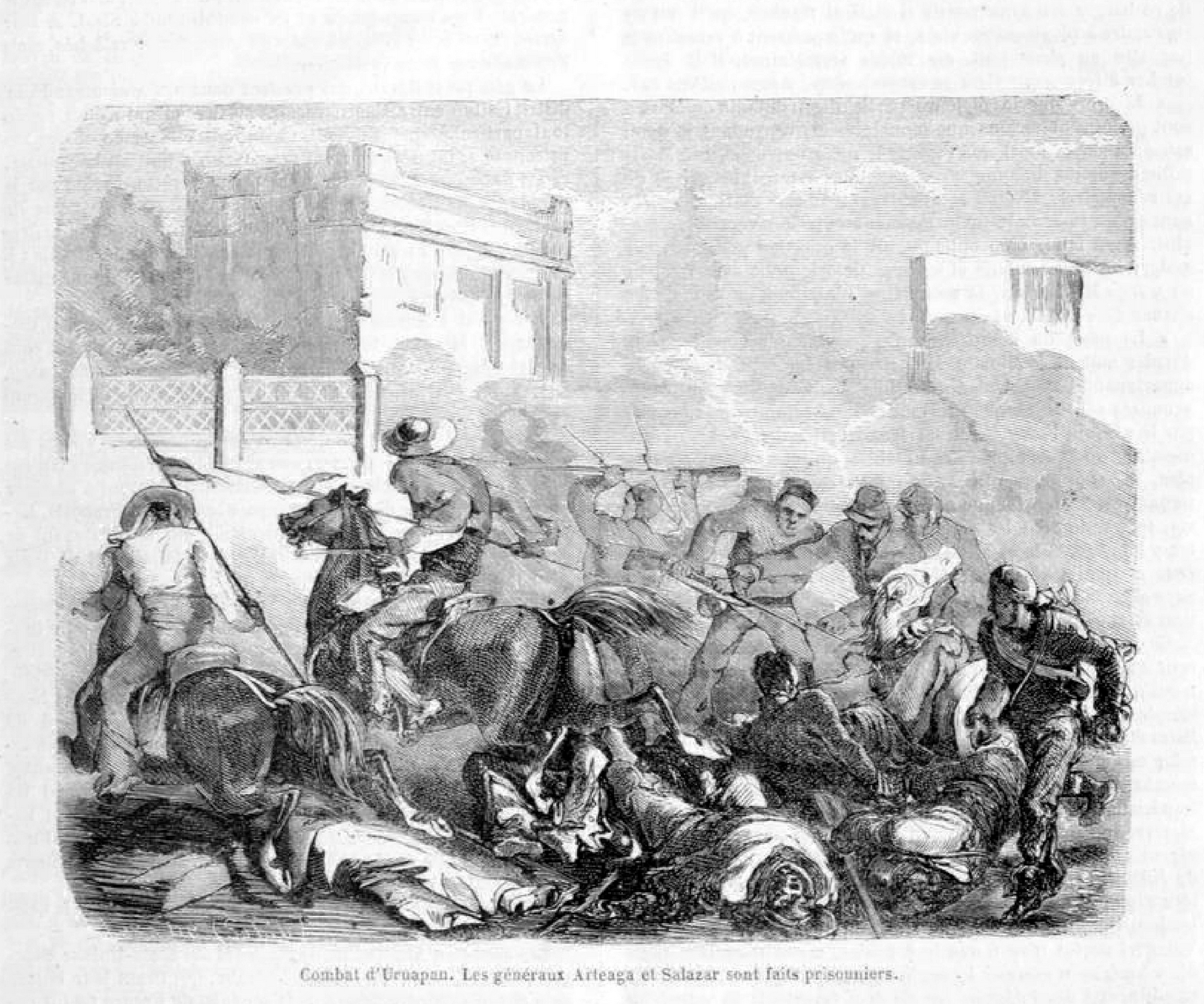 La Segunda Guerra De Intervencin Francesa Ilustrada Por